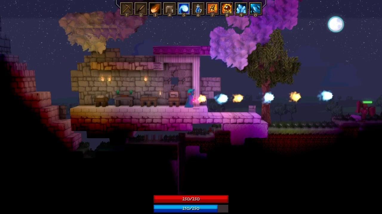 The sandbox RPG 'Spoxel' seems like it could be pretty