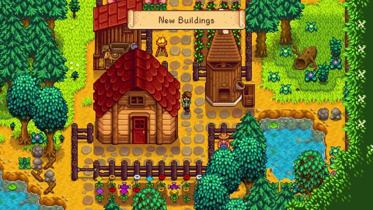 Stardew Valley 1 1 is now officially live on Steam & GOG with lots