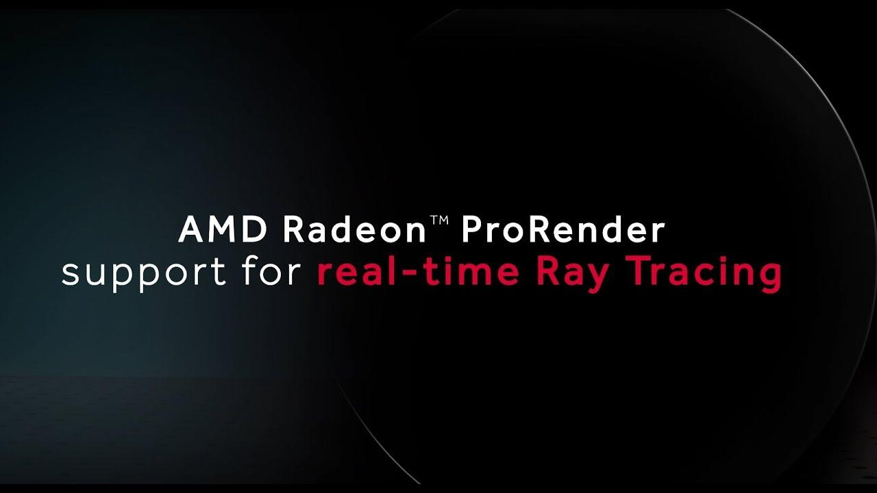 AMD has announced 'Radeon-Rays' an open source ray tracing SDK using