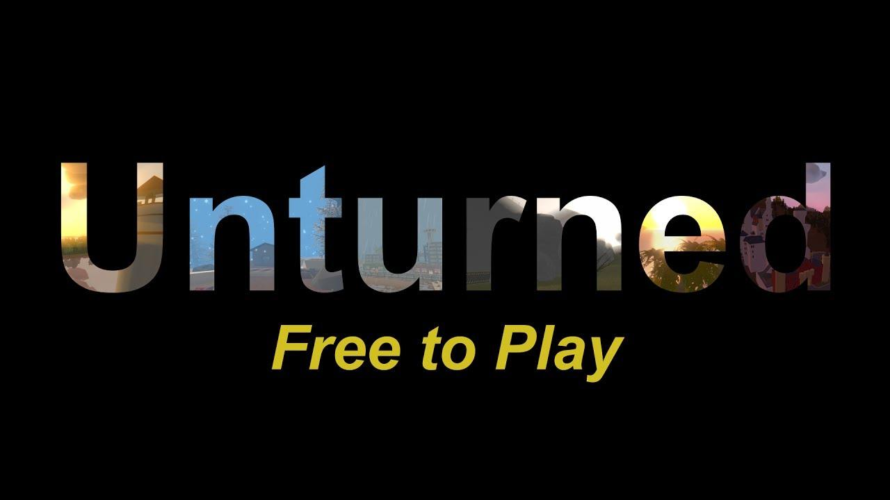 unturned the free to play blocky survival game has released in full