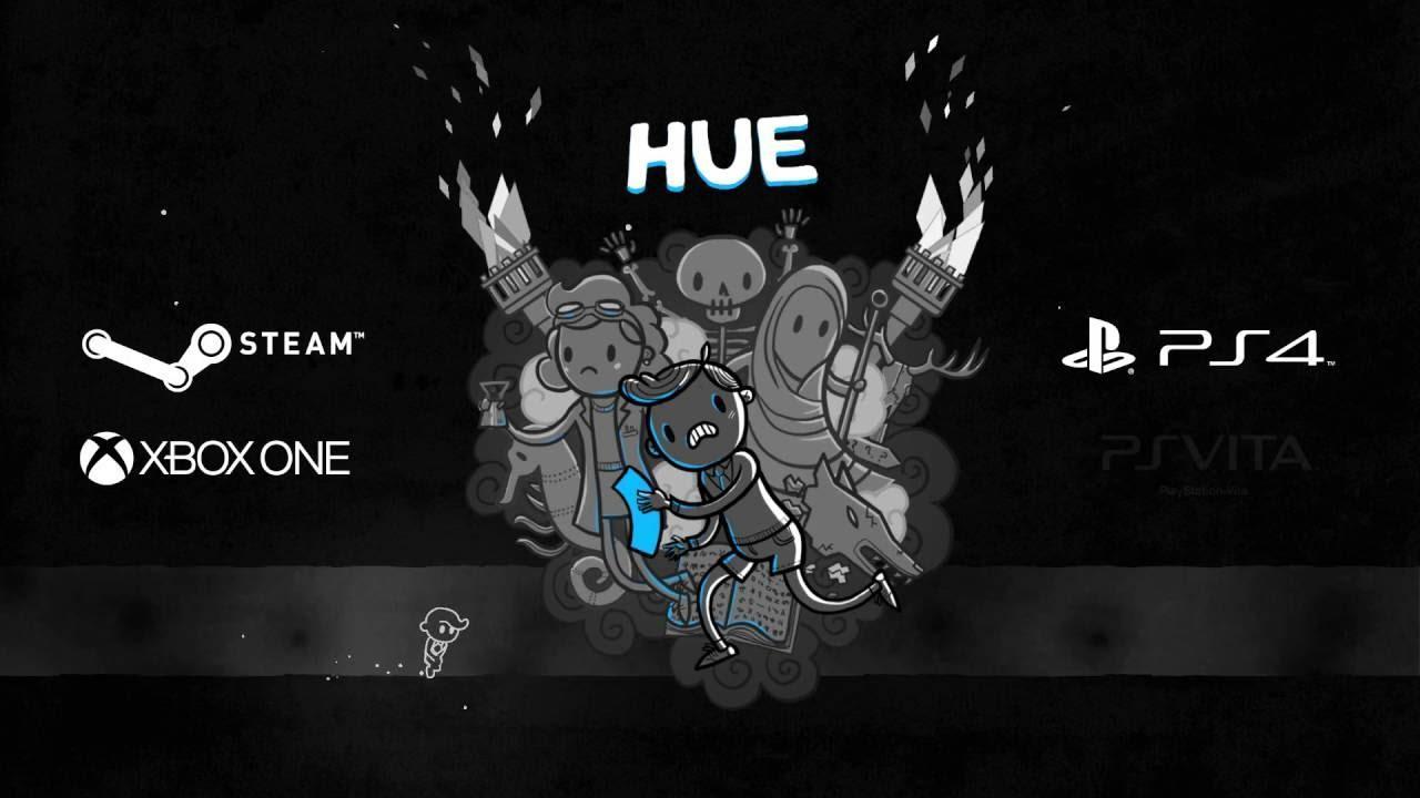 Hue, an award-winning platformer where you alter the worlds