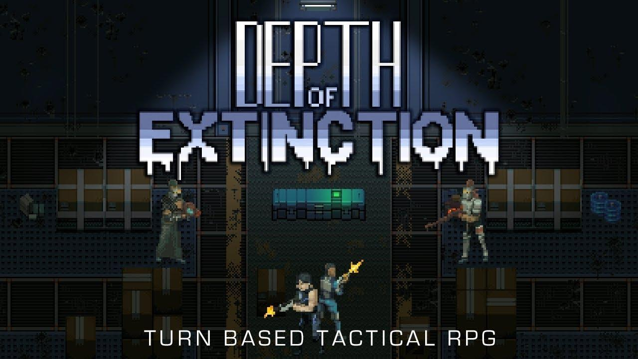 Turn-based tactics game with RPG elements 'Depth of