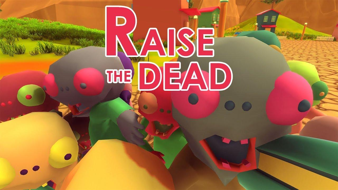 Raise The Dead, a game like Slime Rancher with Zombies will