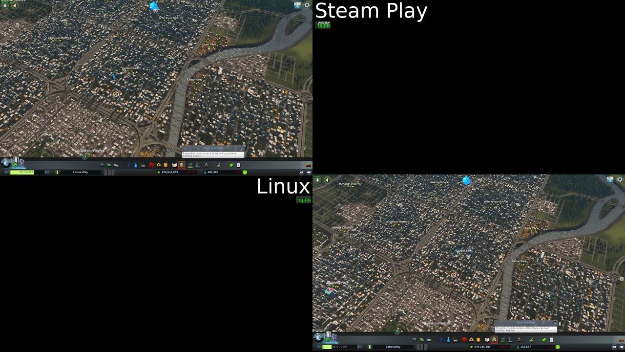 Steam Play versus Linux Version, a little performance comparison and