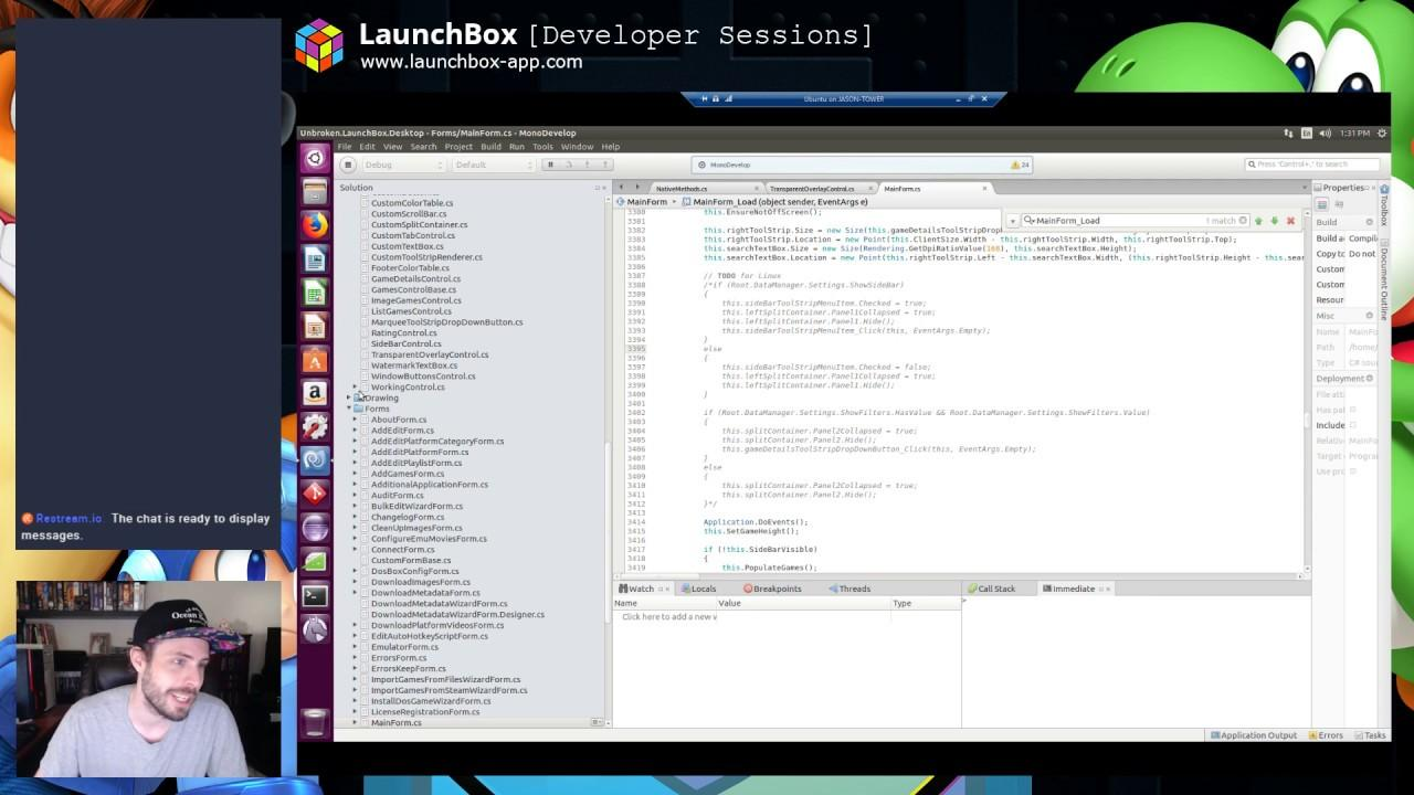 The developers of game launcher 'Launchbox' on porting it to Linux