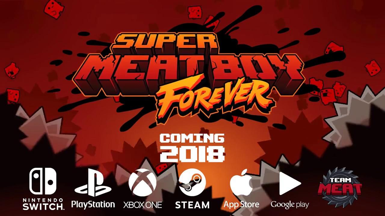 Need more meat? Super Meat Boy Forever announced, will have