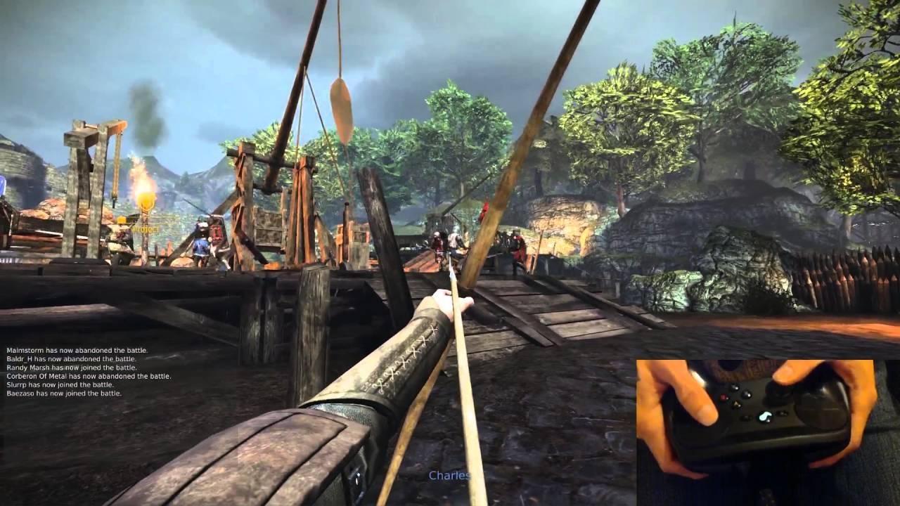 Chivalry: Medieval Warfare on Linux with the Steam