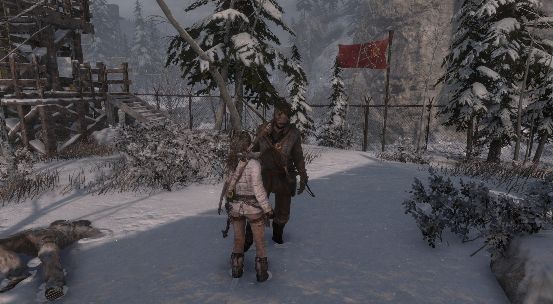 Rise of the Tomb Raider is now officially available on Linux, here's