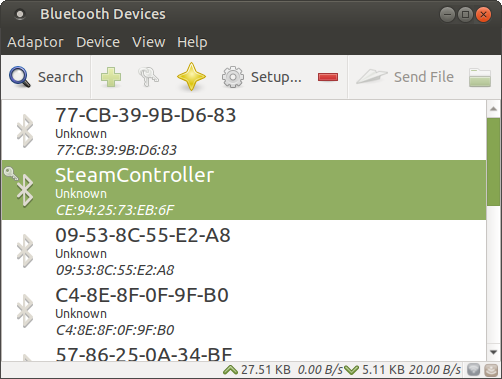 A new Steam Client Beta adds Bluetooth Low Energy (BLE) support to