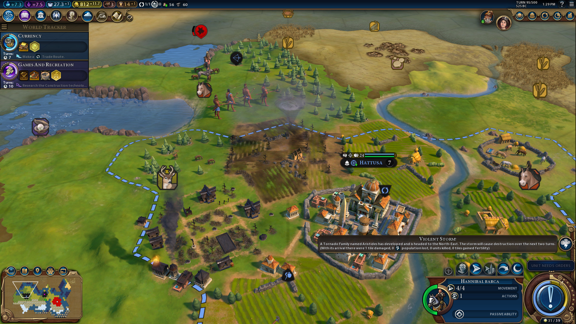 Sid Meier's Civilization VI: Gathering Storm is out with
