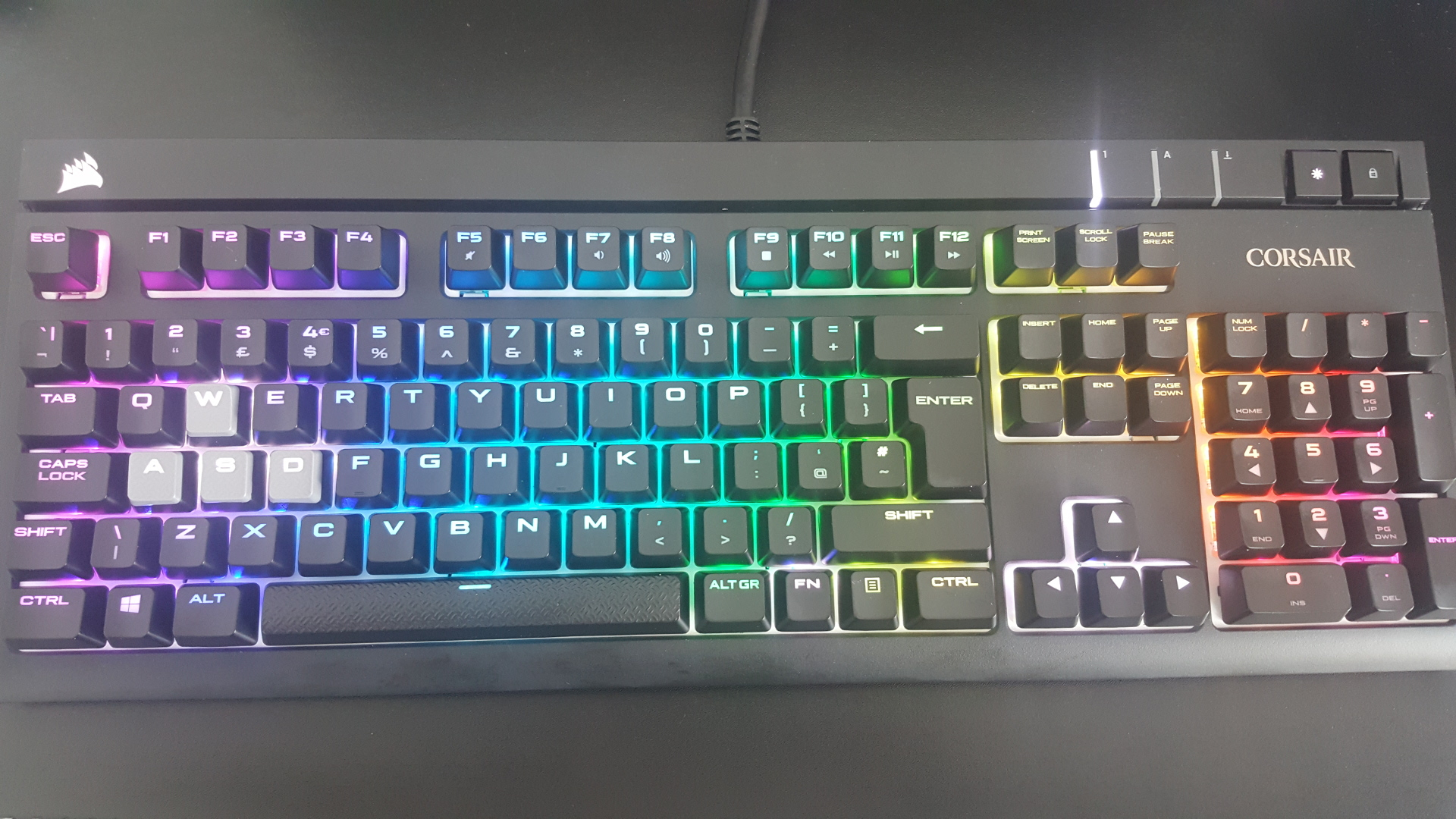 Thoughts on the Corsair STRAFE RGB Mechanical Keyboard with