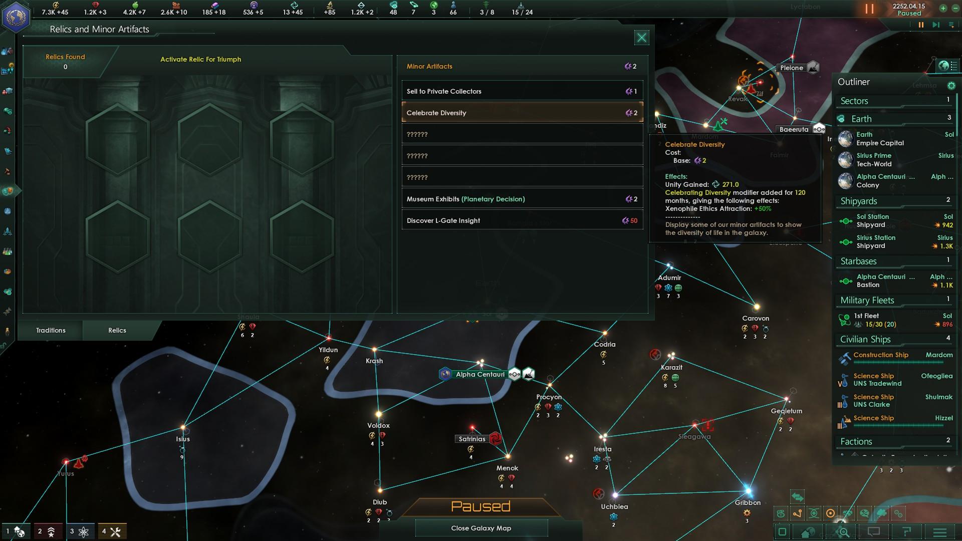 Stellaris goes 64bit in the 2 3