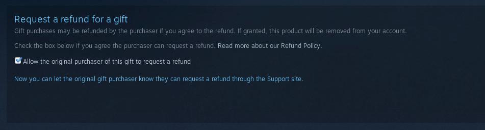 steam refund how