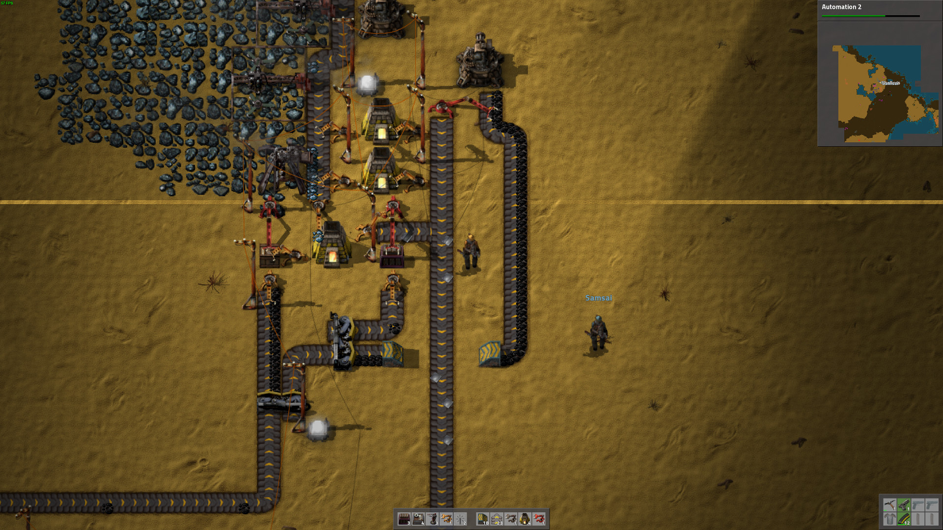 Some thoughts on Factorio after a few hours with it, blown