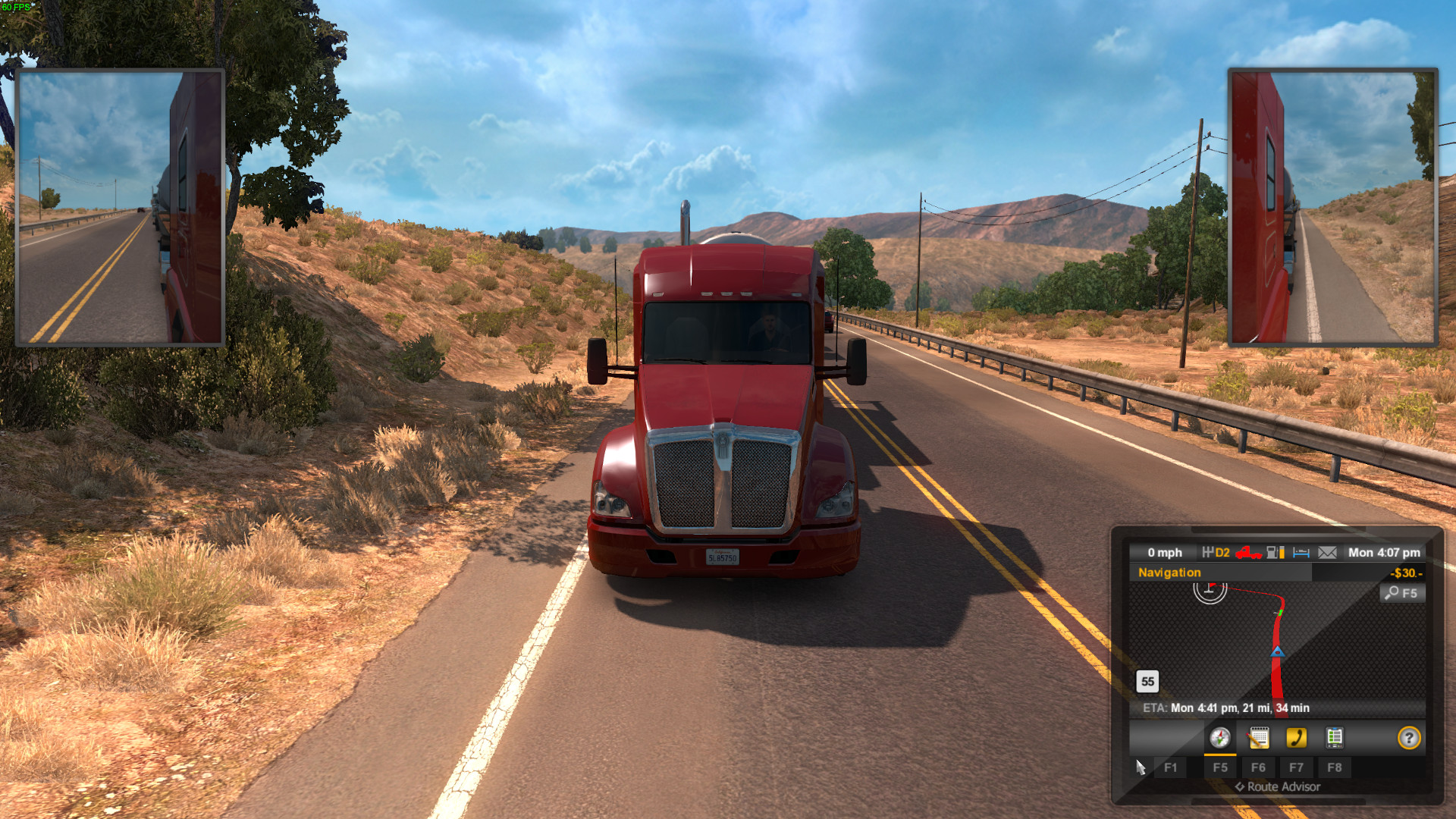 I played American Truck Simulator on Linux, don't ever let