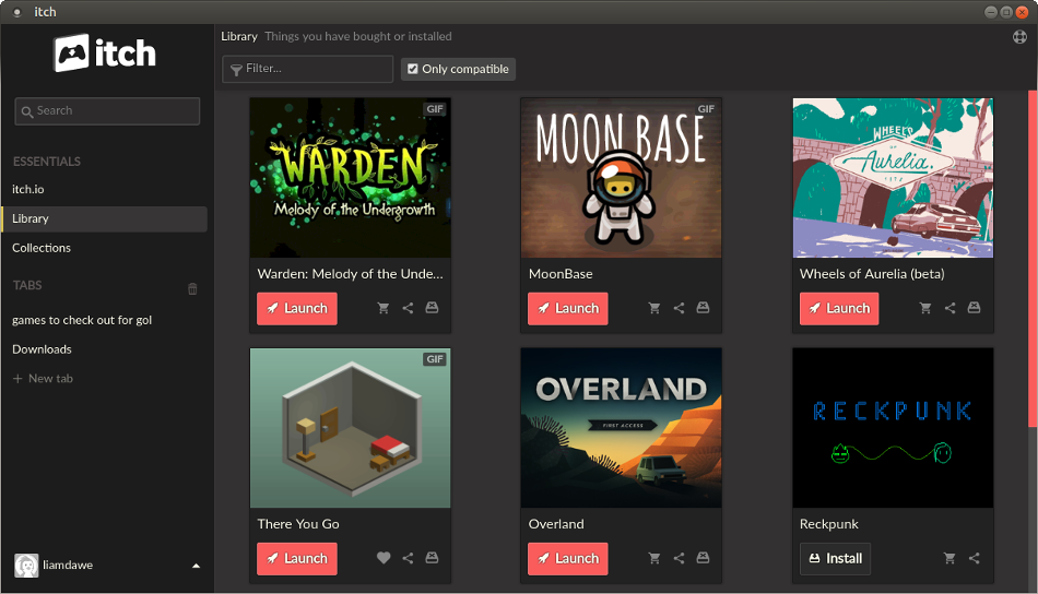 New version of the itch store app is out, better Arch Linux
