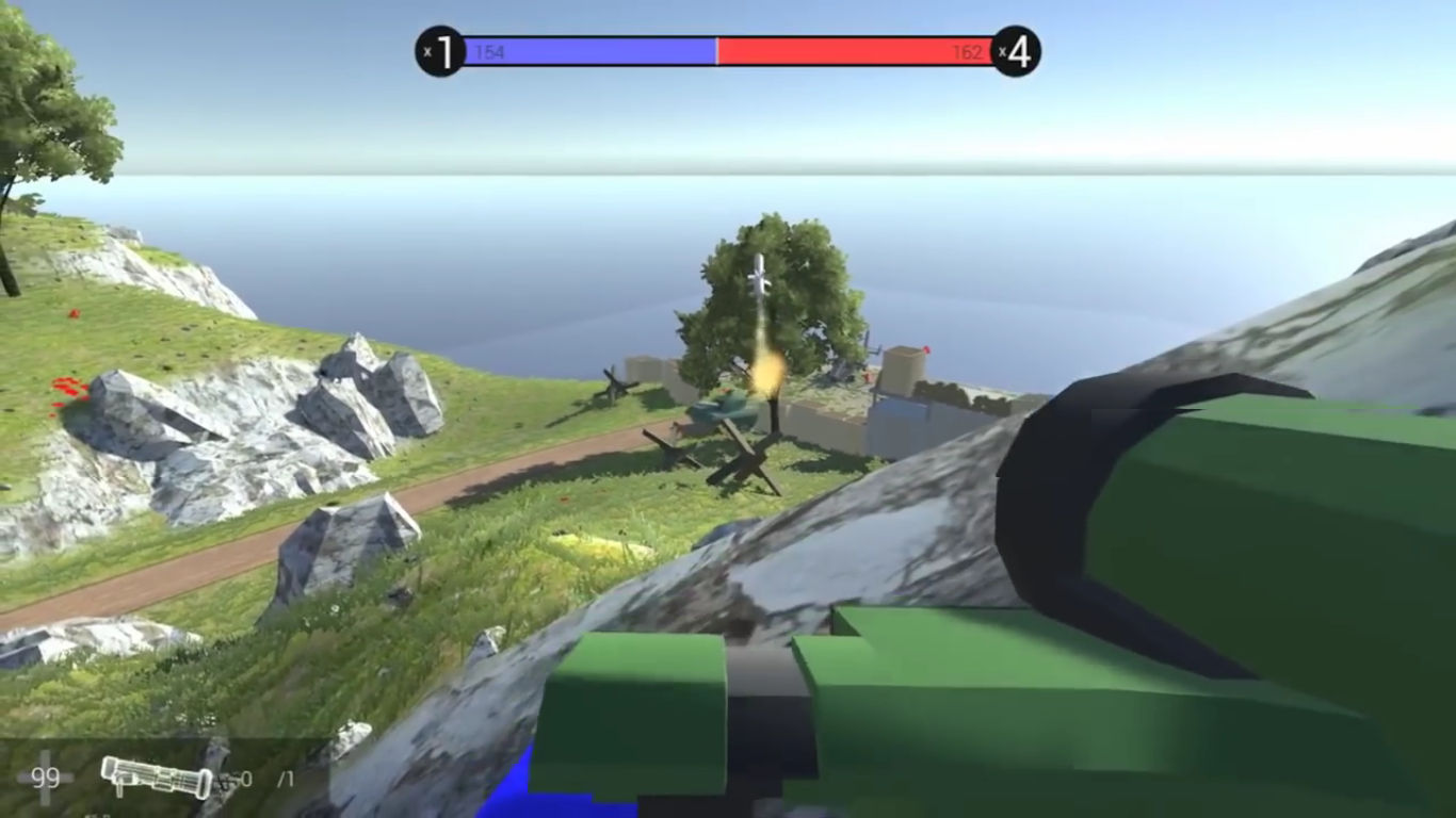 The third beta of FREE FPS 'Ravenfield' is out, the game keeps