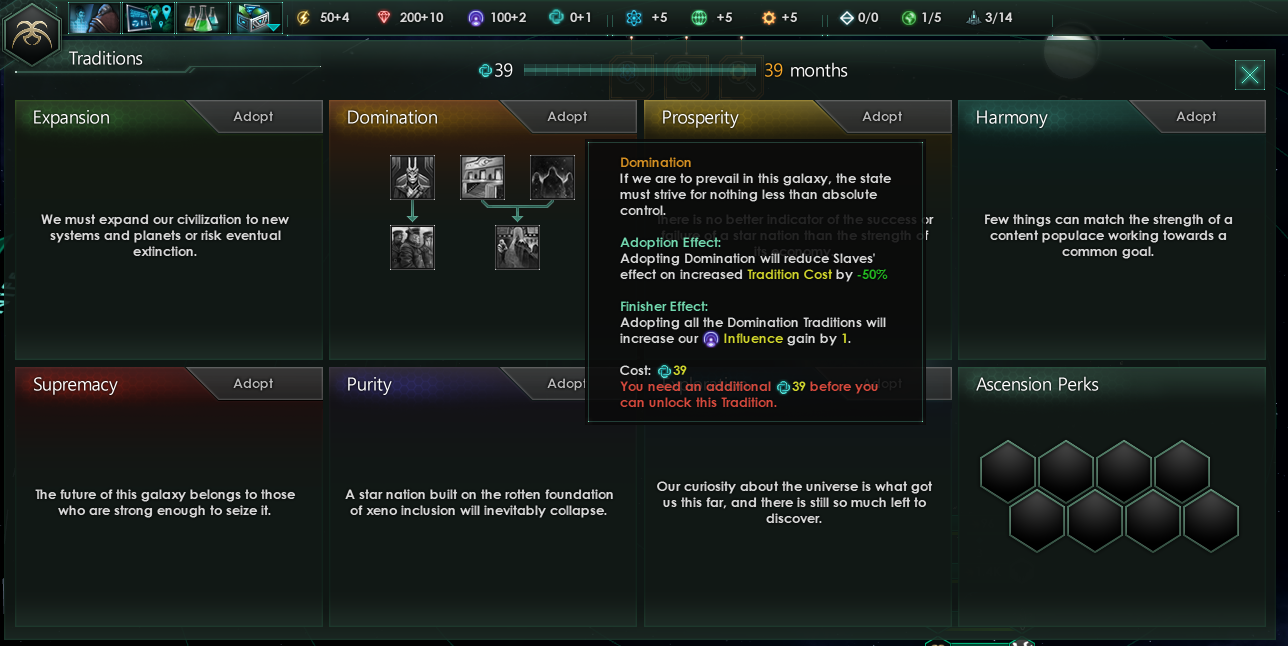 Stellaris is going to gain more customization options for