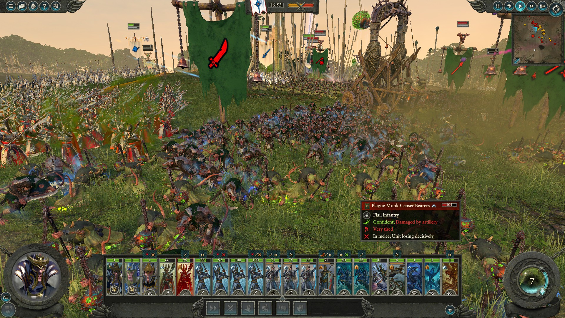 The chaos and action of Total War: Warhammer II makes for a gripping