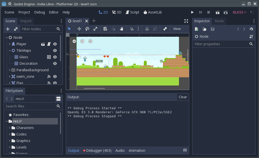 The FOSS game engine Godot Engine continues advancing