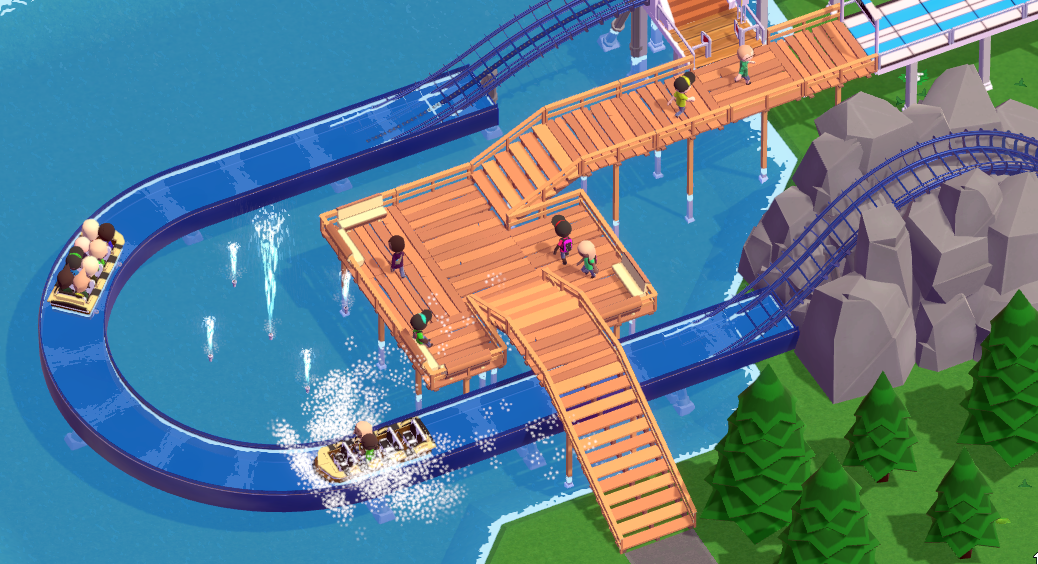 Parkitect alpha 19 is out with new rides, new scenario