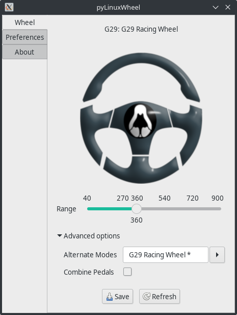pyLinuxWheel and Oversteer, two open source tools for