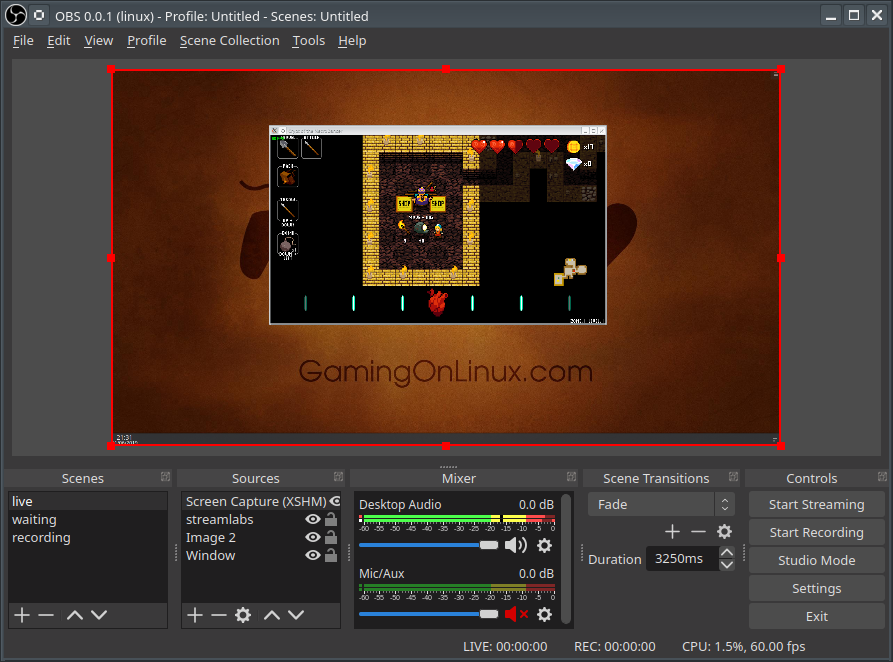 Video recording and livestreaming software OBS Studio has