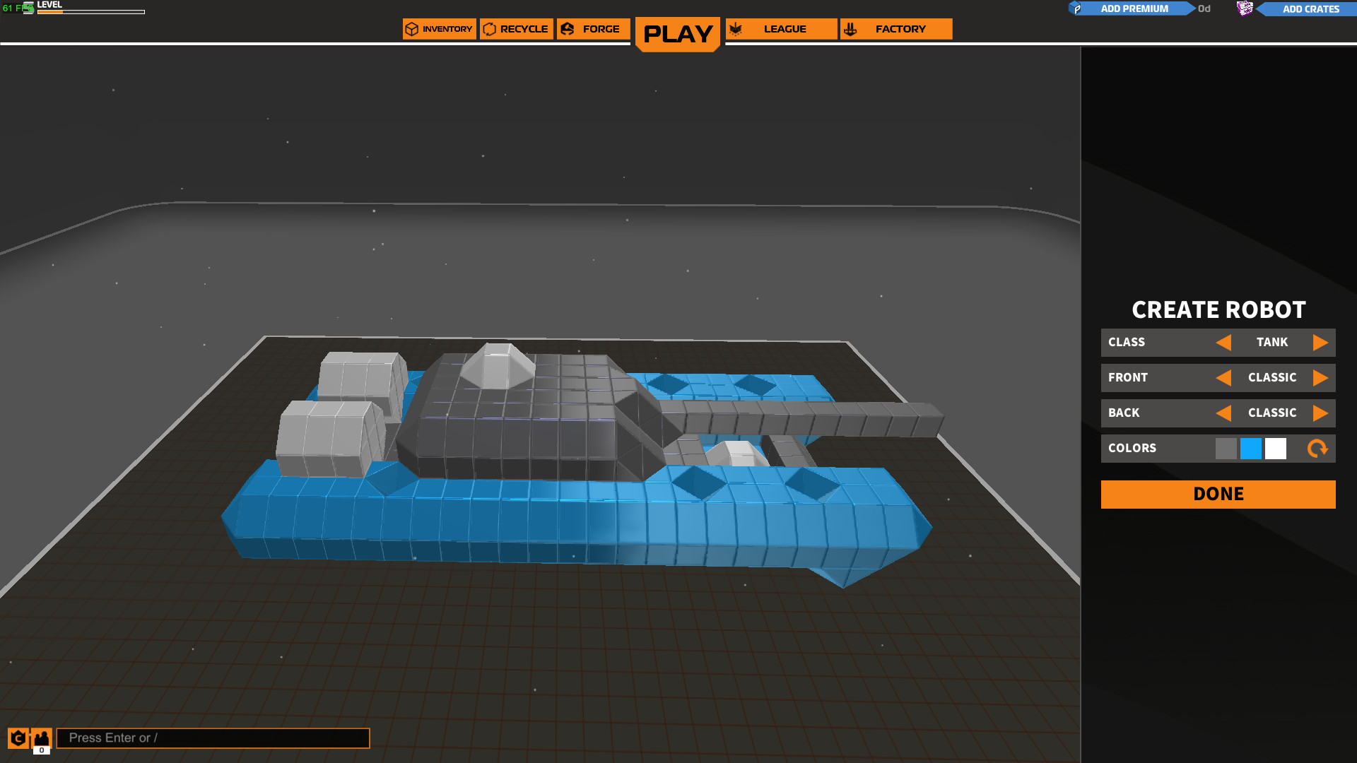 Fun free to play vehicle combat game 'Robocraft' updated