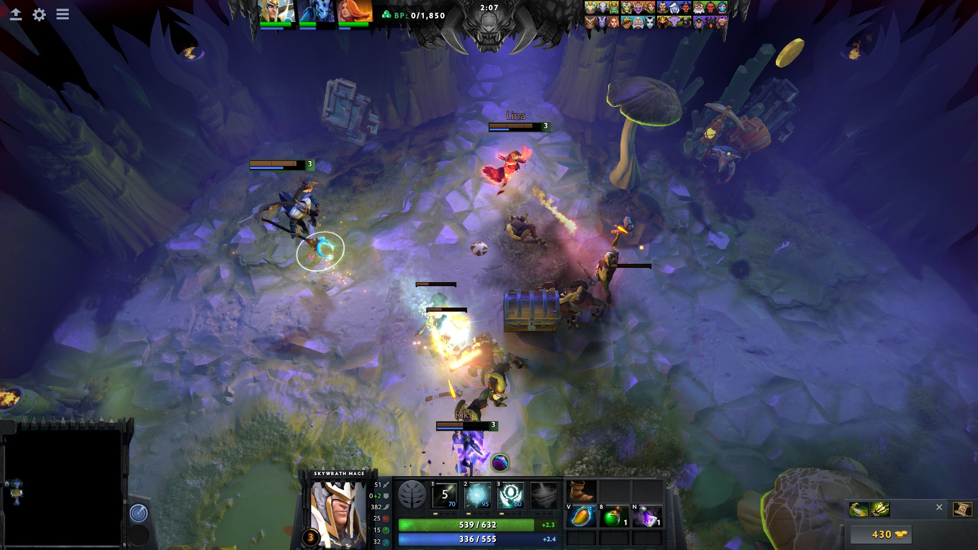 The Underhollow, a Battle Royale-like mode for Dota 2 is live and
