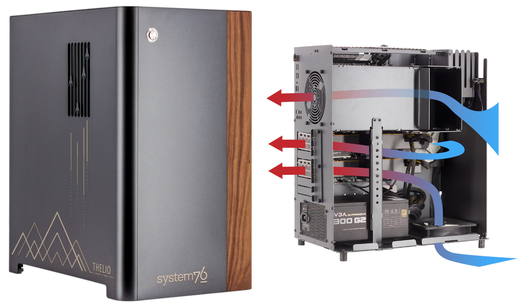 As AMD launch the monster 3990X CPU, System76 offer it up with their stylish Thelio Major