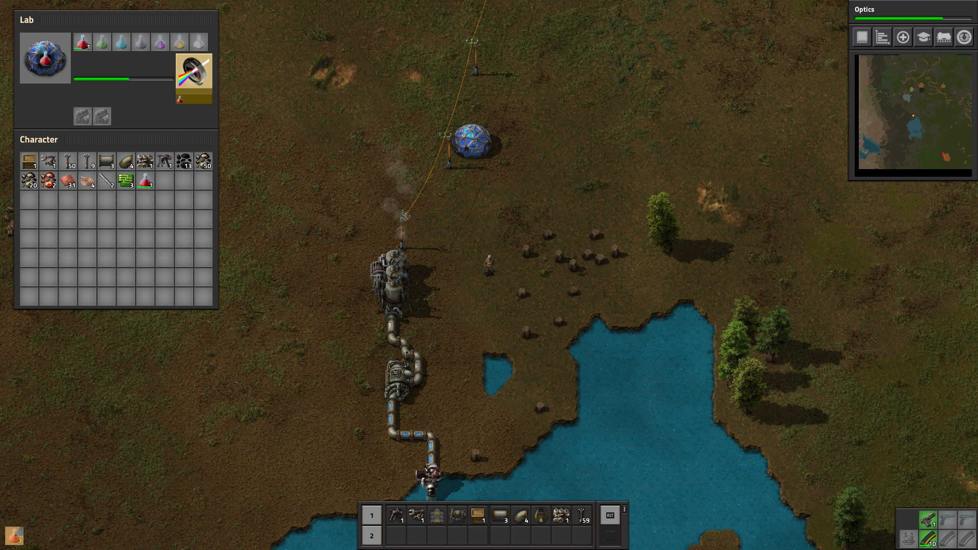 Factorio has a major new experimental release out ready for