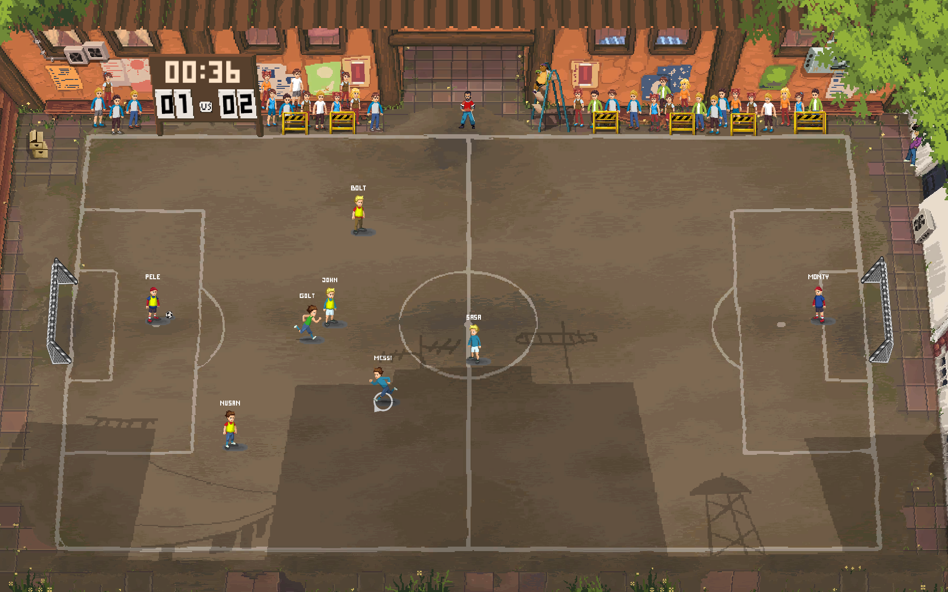 Football Story blends a narrative campaign with competitive