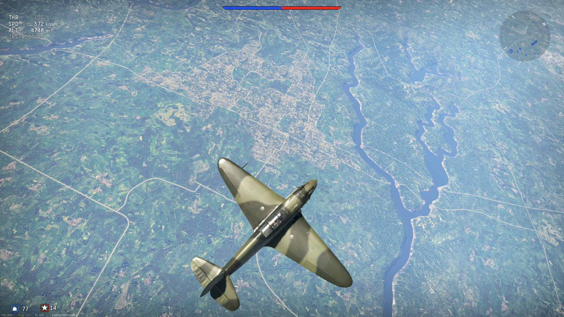 War Thunder currently has a Vulkan renderer under development that