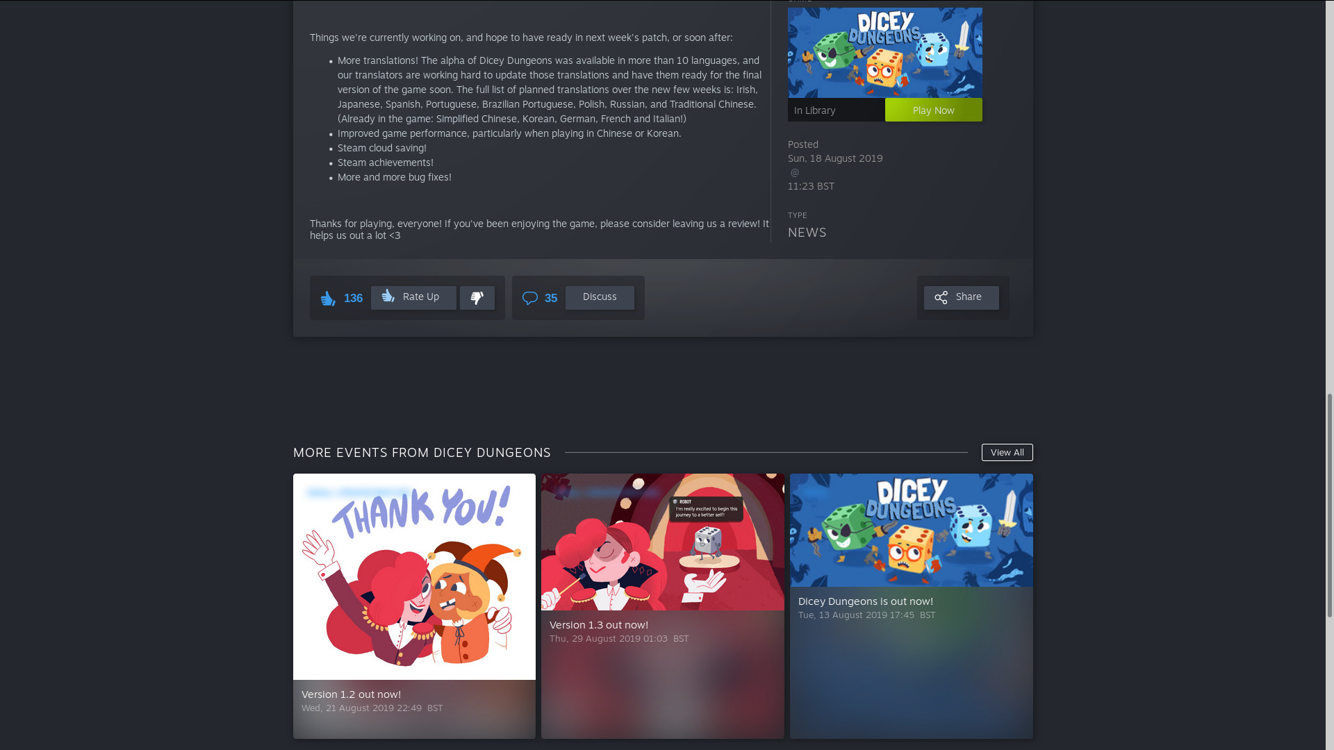 The Steam Library overhaul is finally coming in Beta this