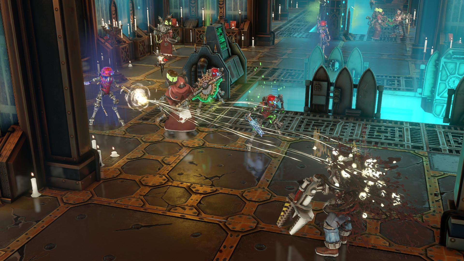 Warhammer 40 000 Mechanicus Just Had A Big Update And Heretek