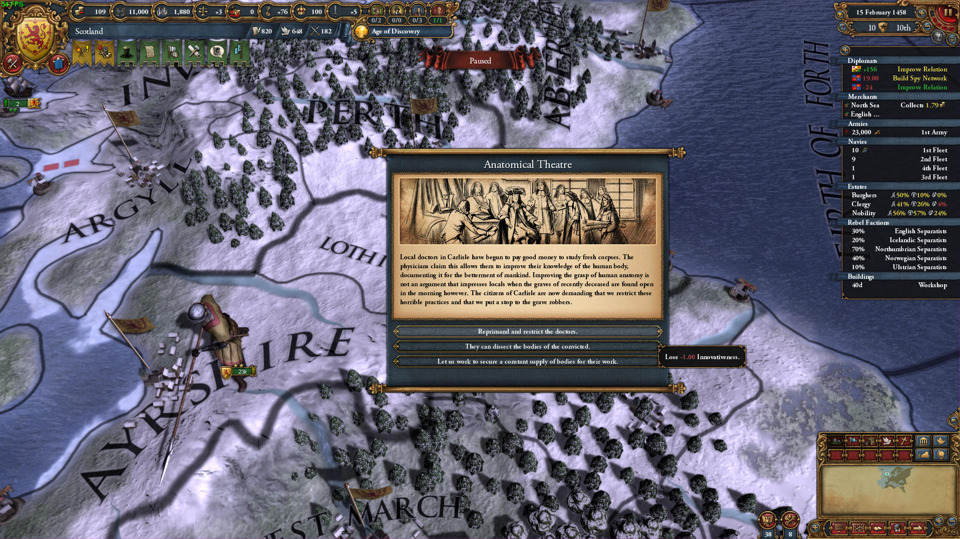 Europa Universalis IV: Rule Britannia now available, doesn't really
