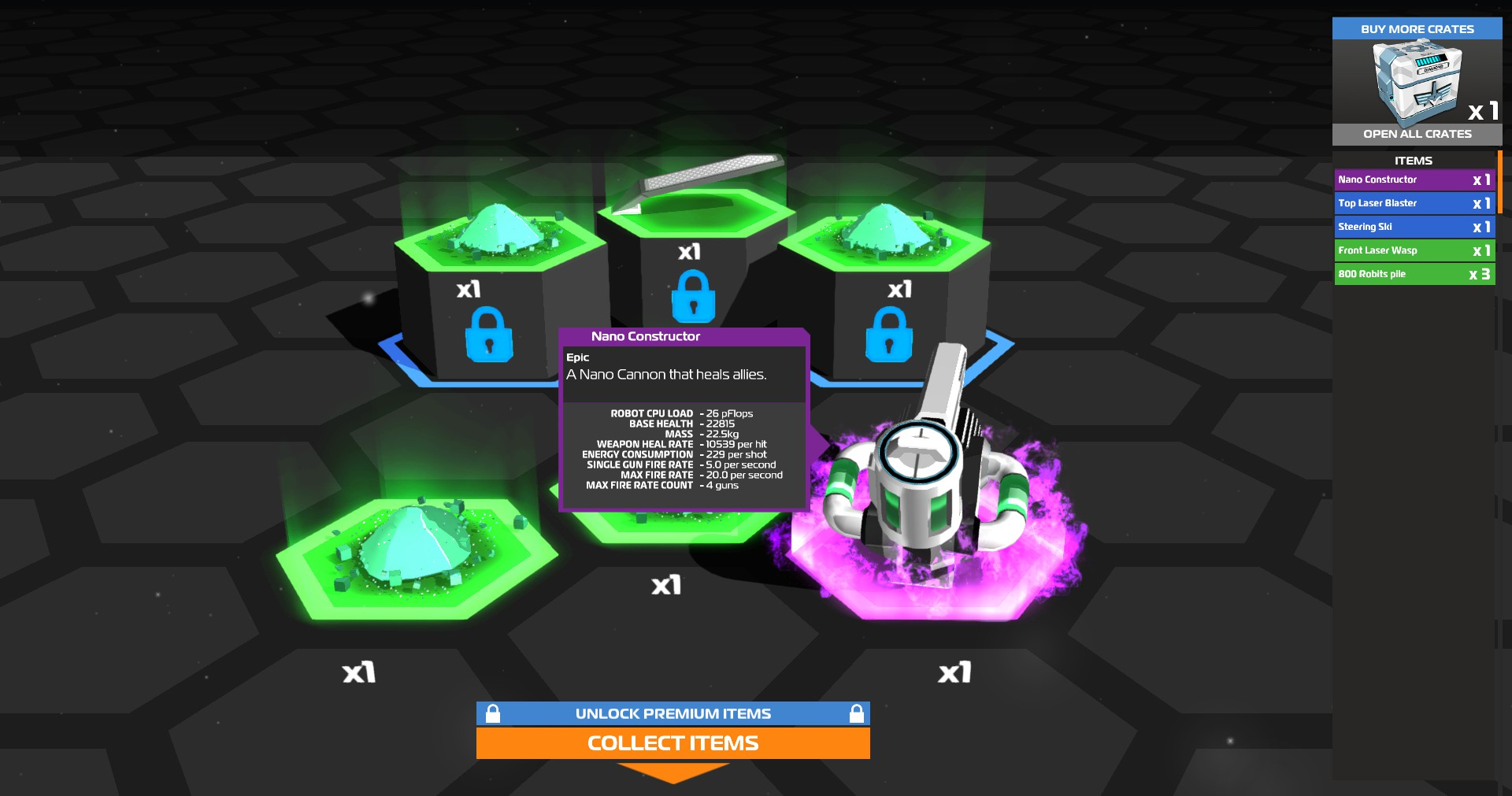Some initial thoughts on Robocraft, the free to play game