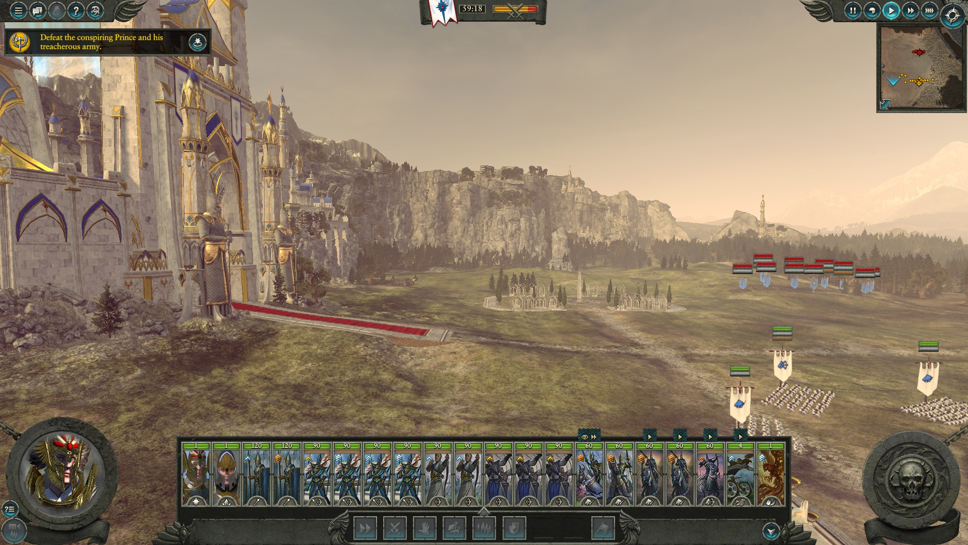 The chaos and action of Total War: Warhammer II makes for a