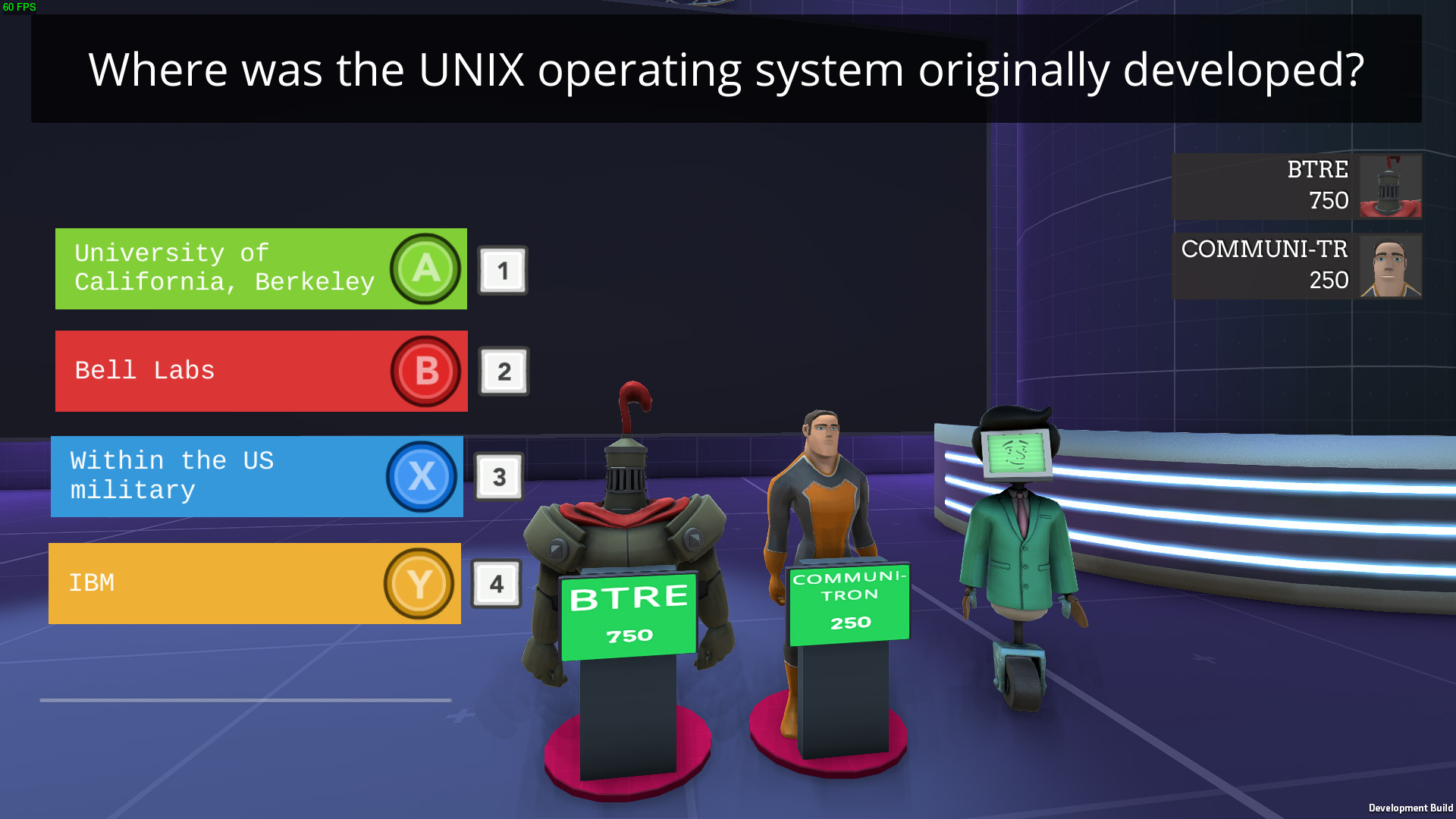 Askutron Quiz Show released into Early access, some quick