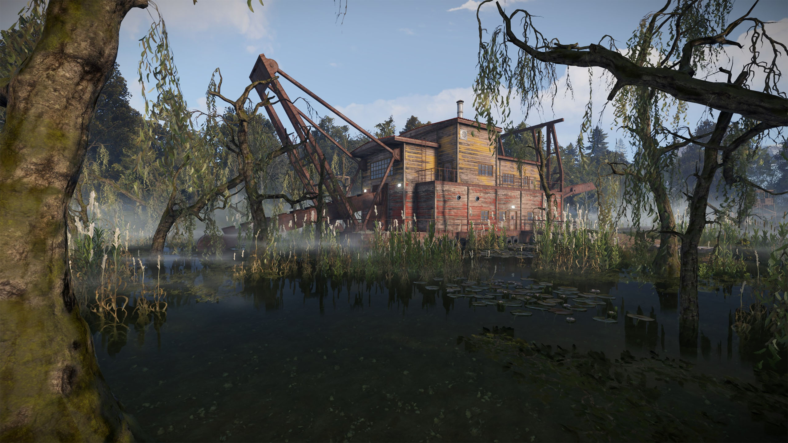 Survival game 'Rust' adds a new Team UI, a deployable