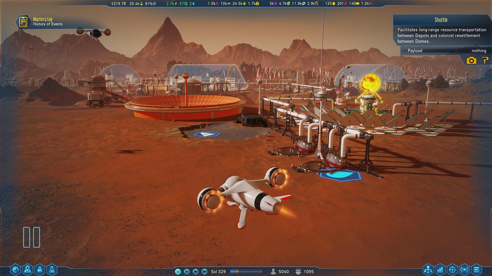 surviving mars sanity