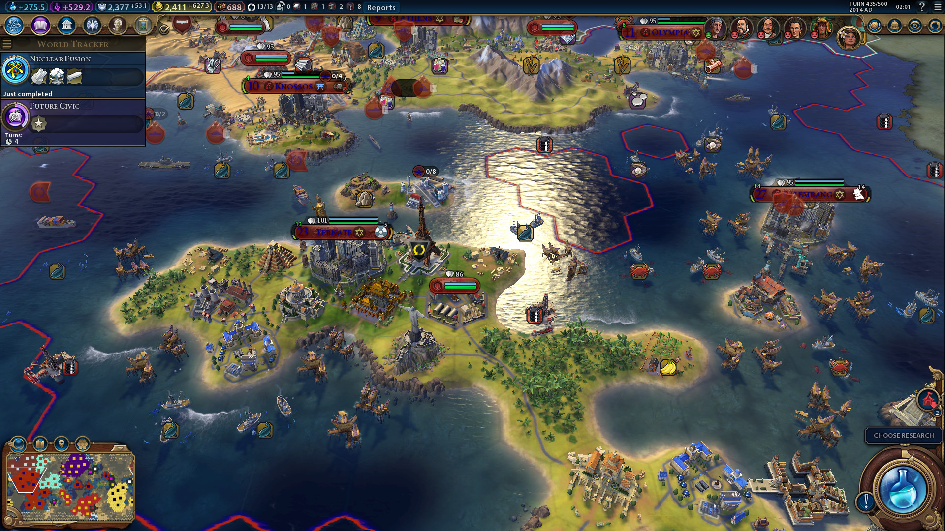 the fall 2017 update for civilization vi has finally made it to