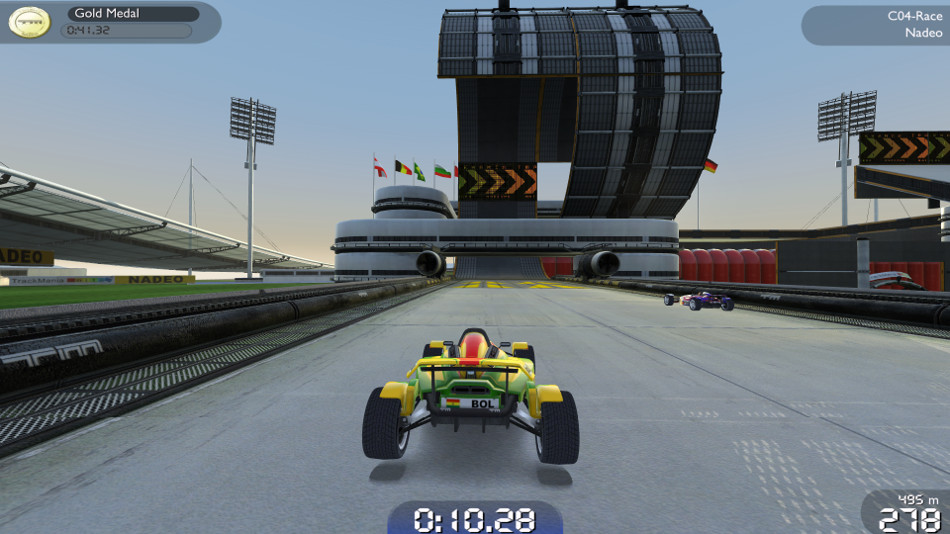 Want to play Track Mania Nations Forever on Linux using Wine