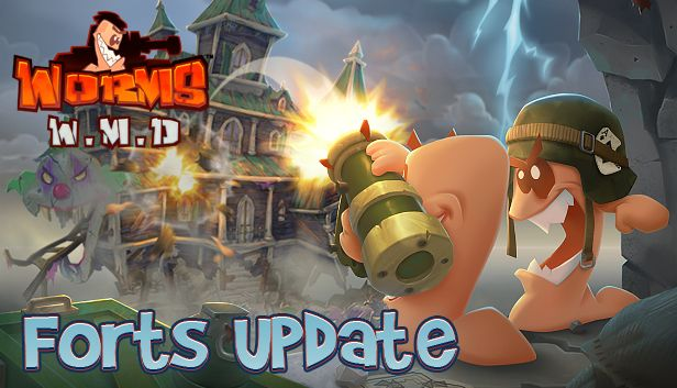 worms w m d updated with a free game mode forts gamingonlinux