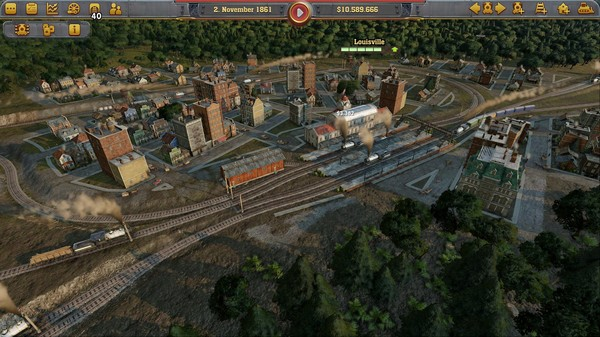 Railway Empire released with same-day Linux support