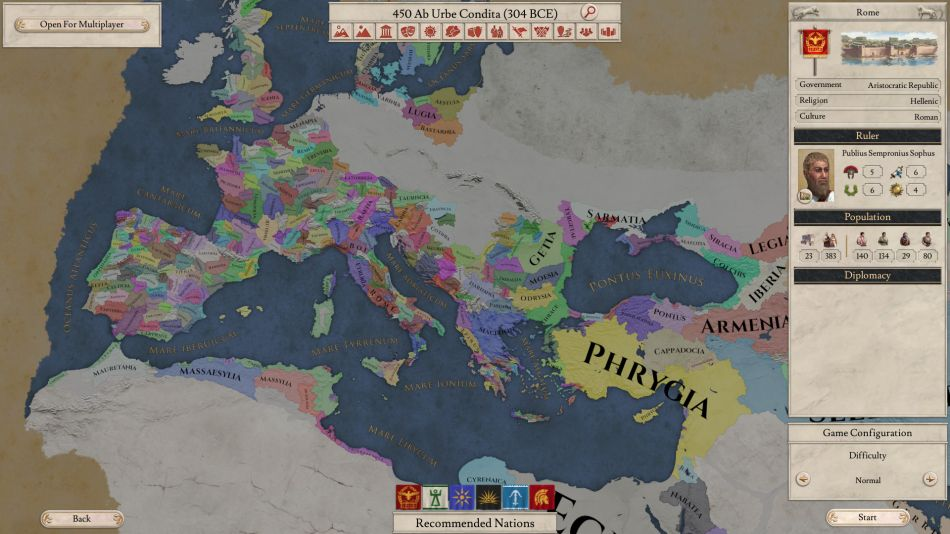 Imperator: Rome from Paradox is out today with same-day Linux
