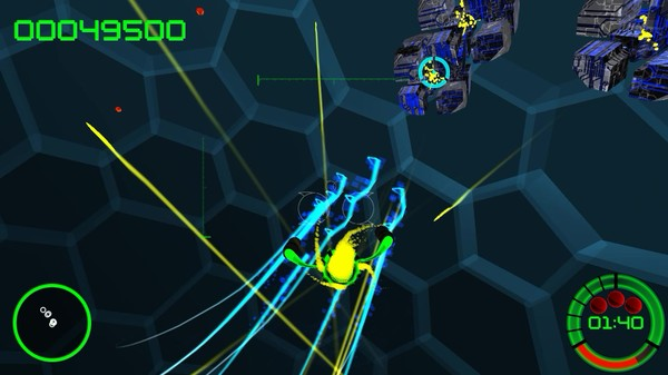 Voxel blast a really retro 3d space shooter with cool for Space blast 3d