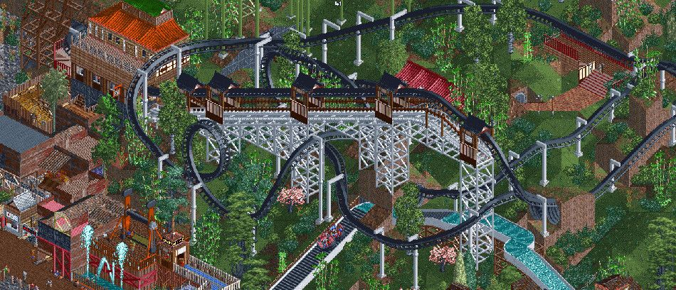 OpenRCT2, the re-implementation of RollerCoaster Tycoon 2