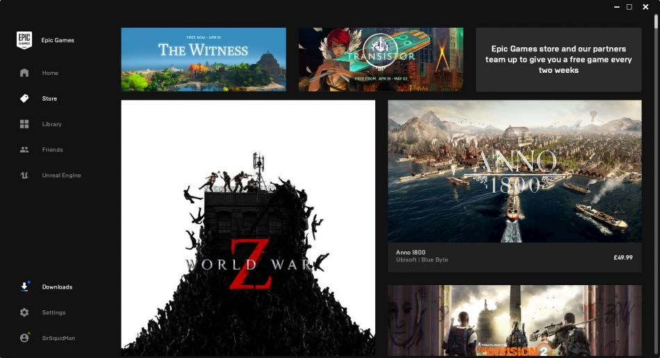 You can now easily run the Epic Store on Linux with Lutris