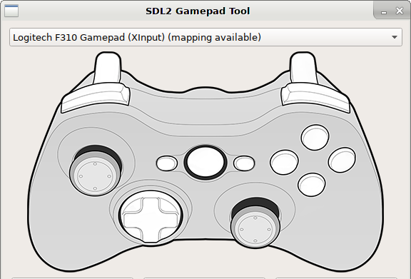 SDL2 Gamepad Tool, an alternative to Steam Big Picture configurator
